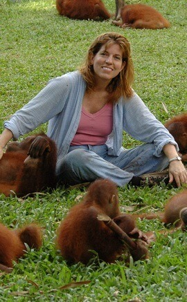 michelle-and-orangutans